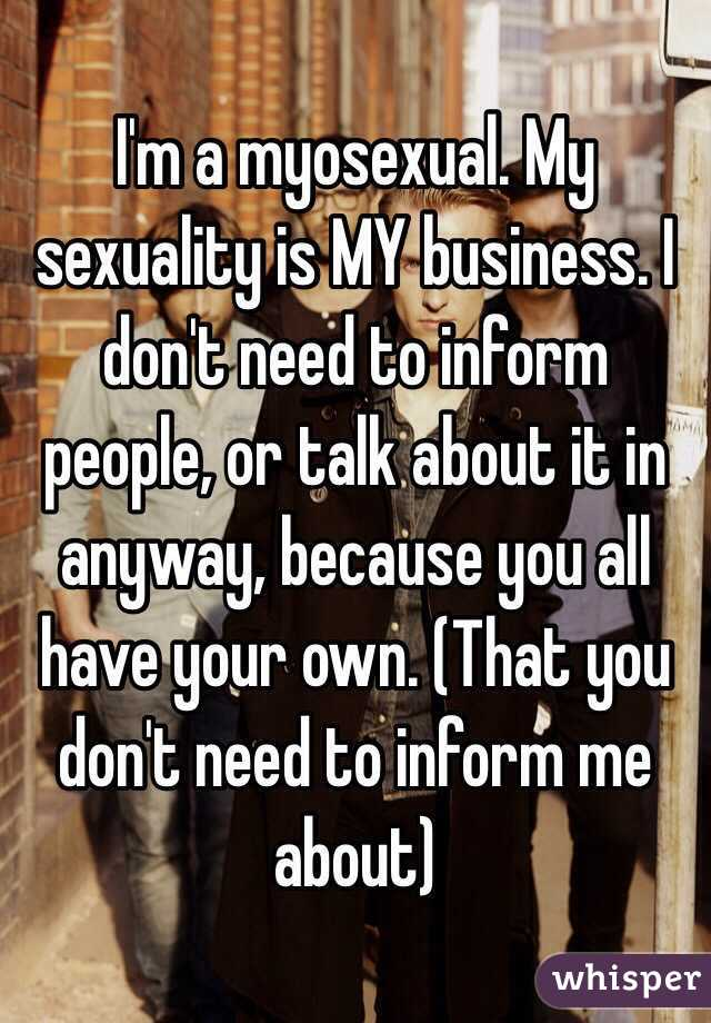 Who can i talk to about my sexuality