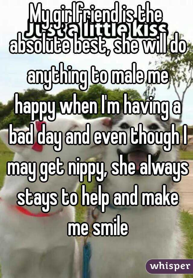 How to make my girlfriend smile