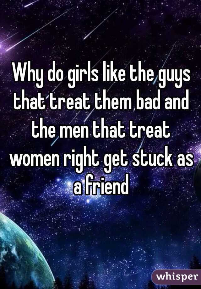 Why Do Women Fondle Bad Men