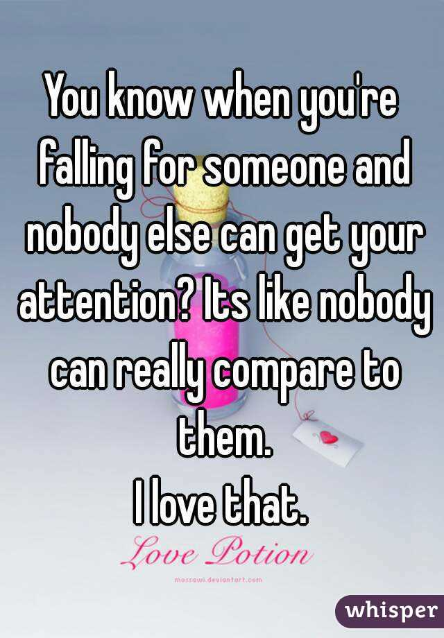 How Do You Know If You Are Falling For Someone