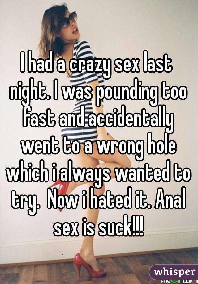 Crazy fast sex