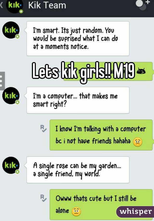 Kik Real Girls