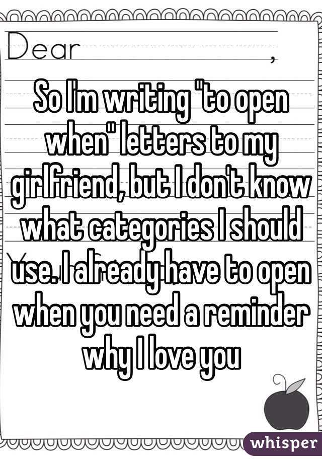 Why i love you letter to girlfriend