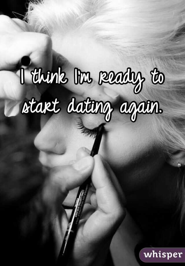How soon to start dating again