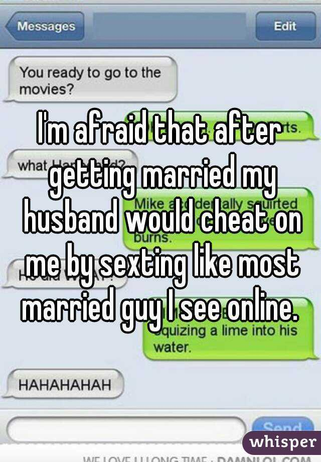How to start sexting with your husband