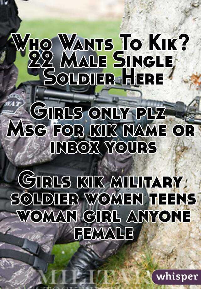 Single teens on kik