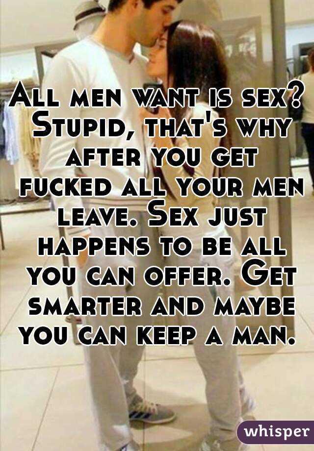Does sex make men smarter