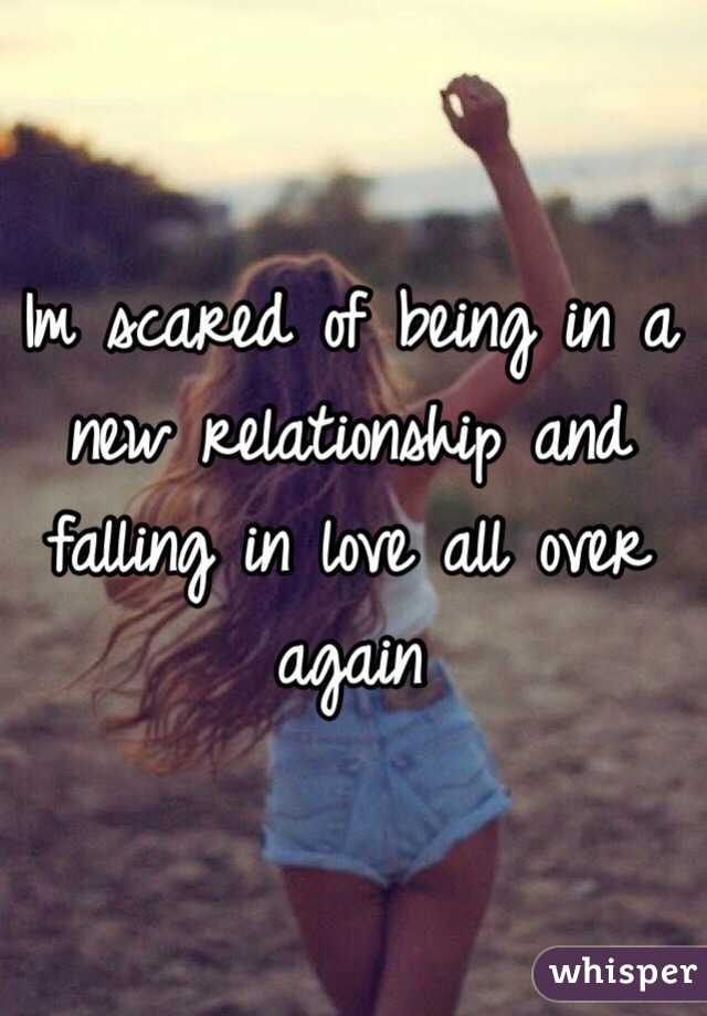 Scared of a new relationship
