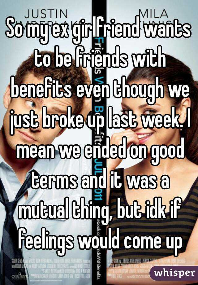 friends with benefits girlfriend