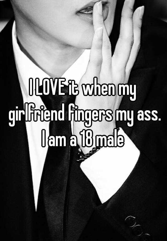 own ass fingers guy