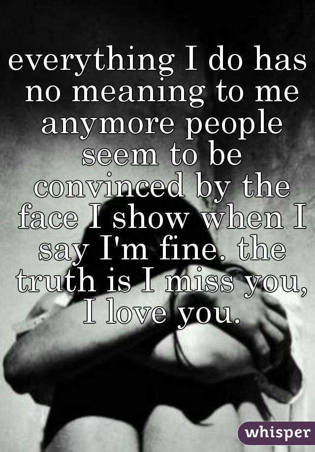 Saying I Love You Too Much Loses Meaning