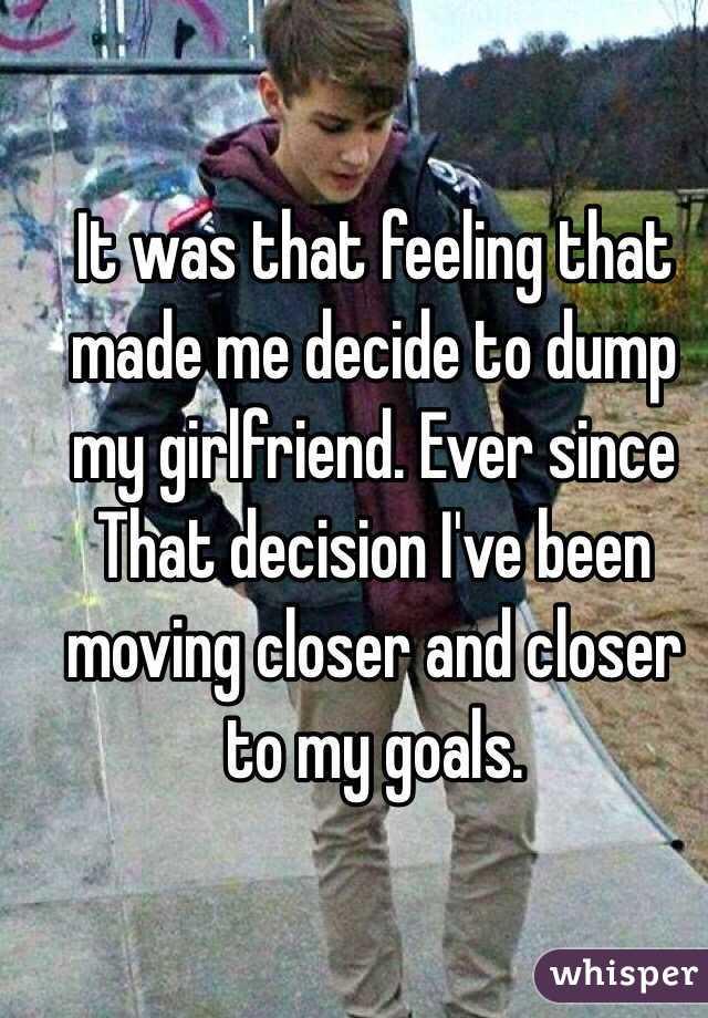 should i dump my girlfriend
