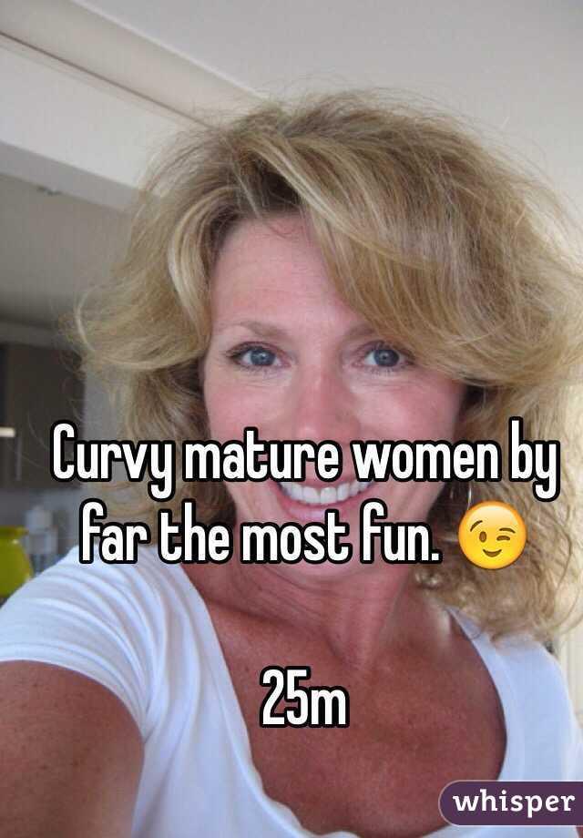 Mature curvy Fitting My