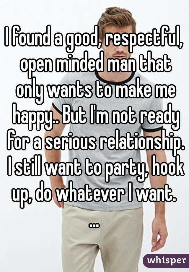 Hookup Someone Not Get ready For Relationship
