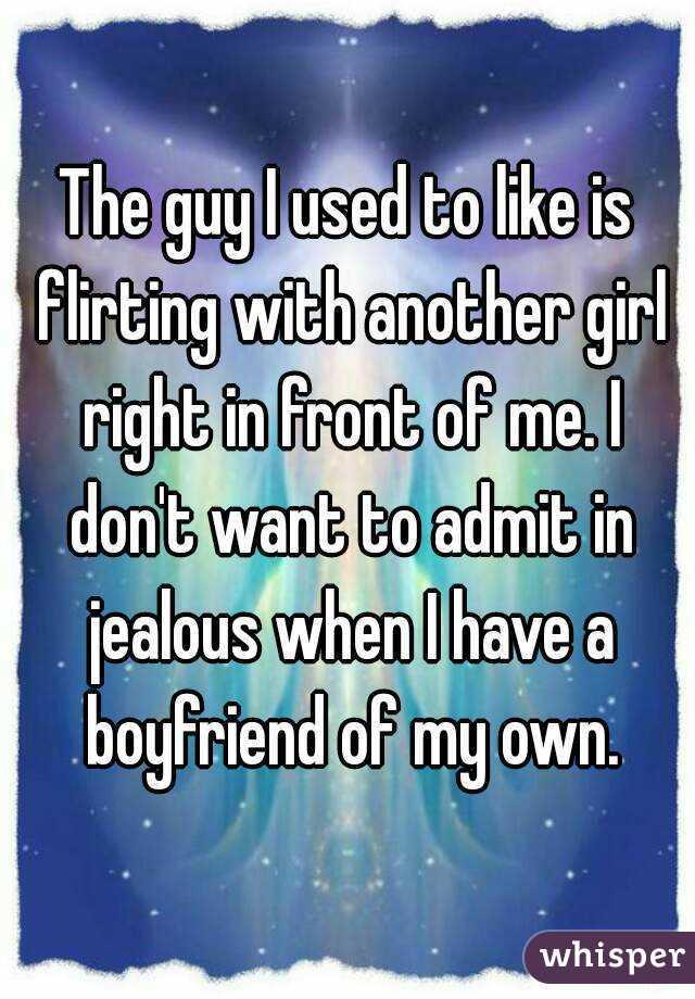 Suggestive flirting