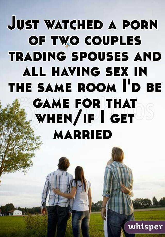 Agree, very two couples having sex have hit