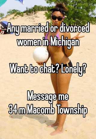 Lonely divorced women