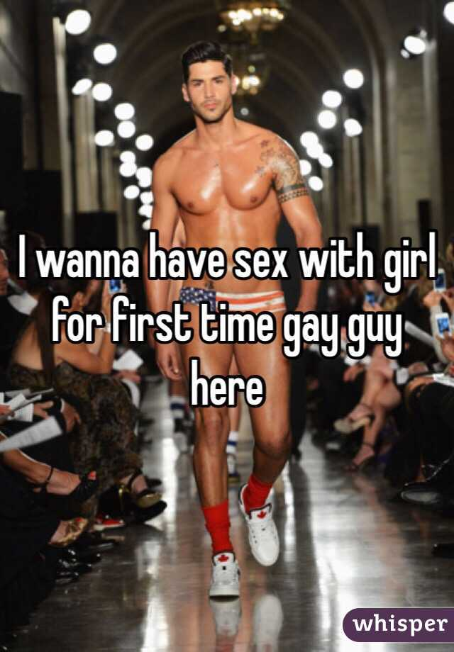 Gay guy has sex with a girl