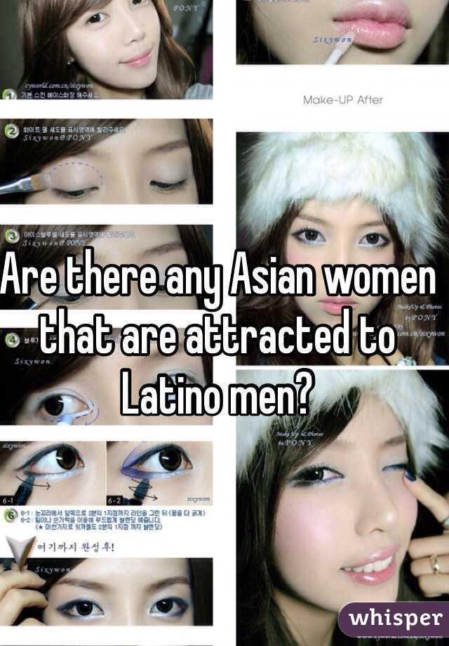 Asian women latino men