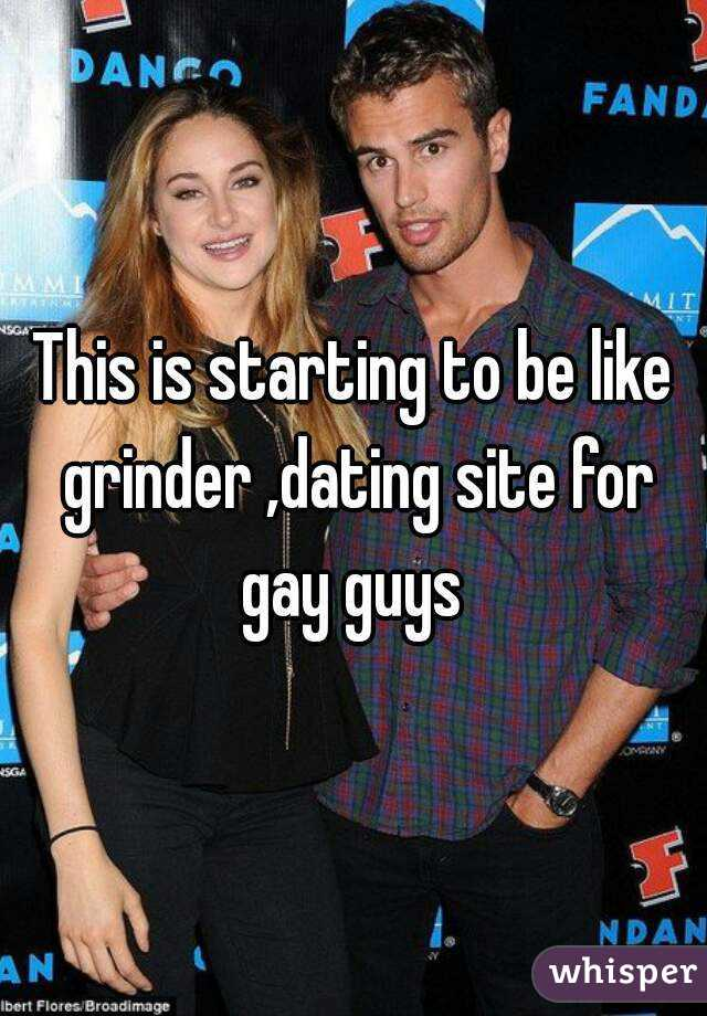 Grinder dating site