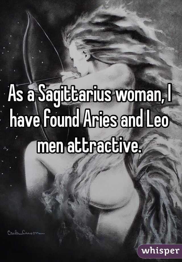 Sagittarius woman and aries man sexually