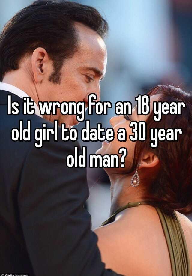 dating an older man at 18