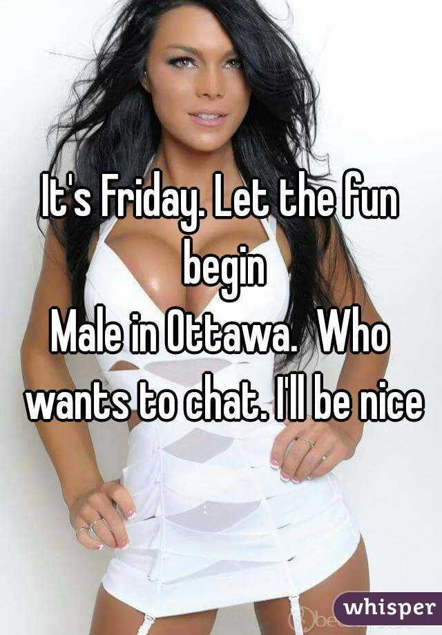 Really. And Ottawa adult chat