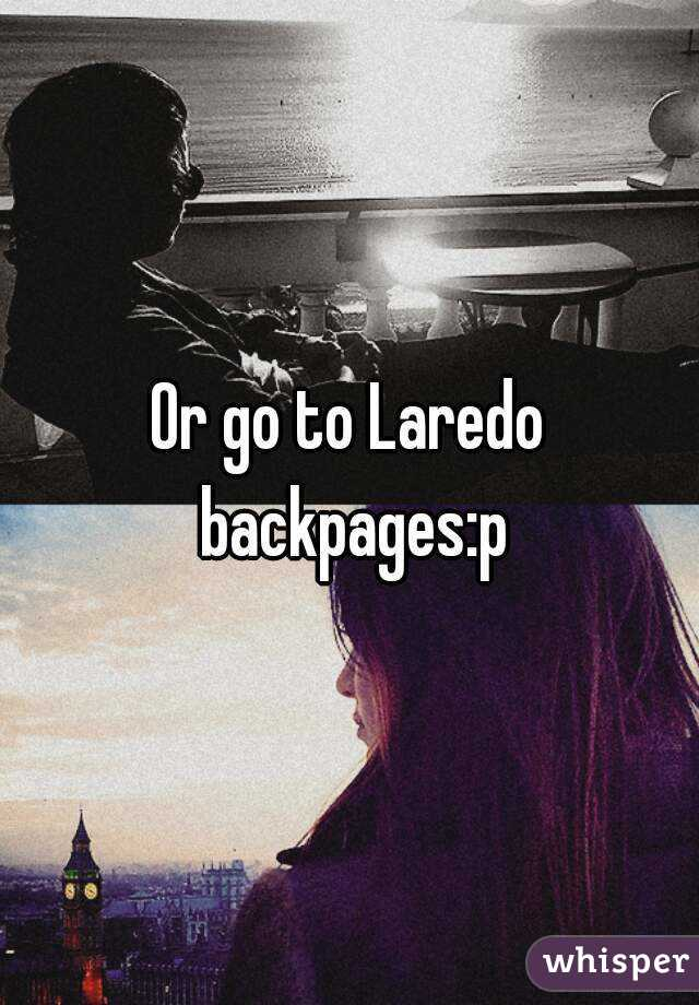 Laredo backpages
