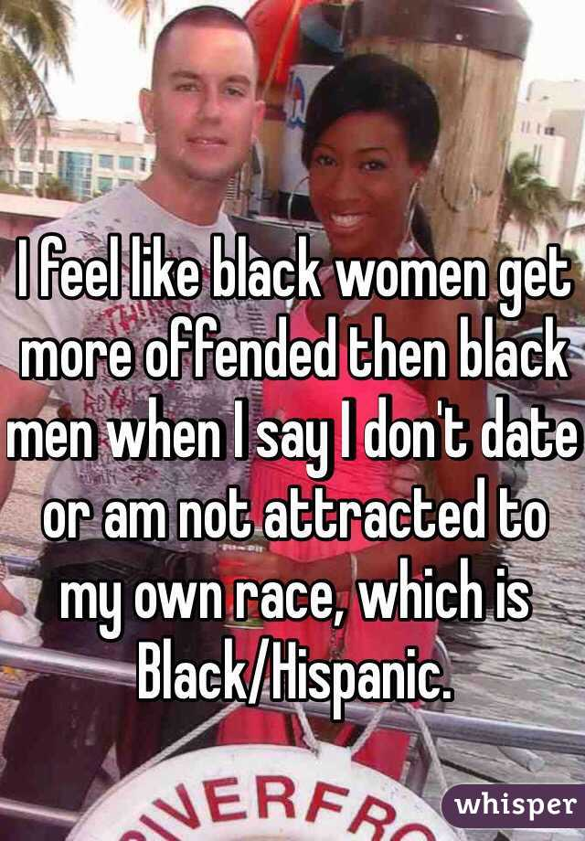 More black women dating out of the race