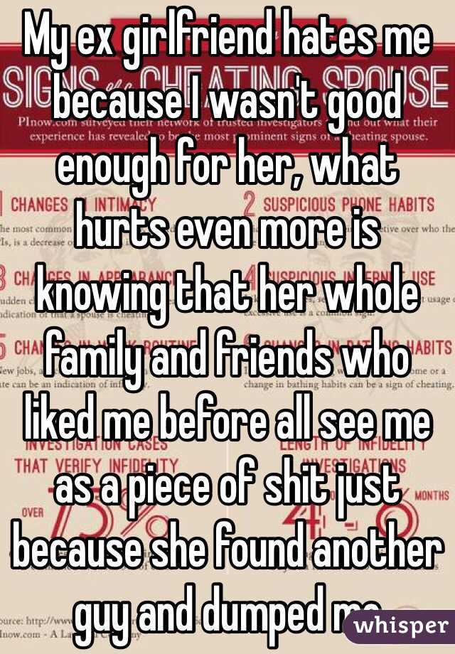 Signs my ex gf is over me