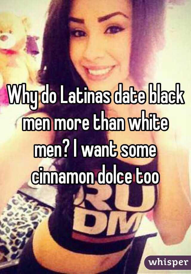 Latina women dating black men