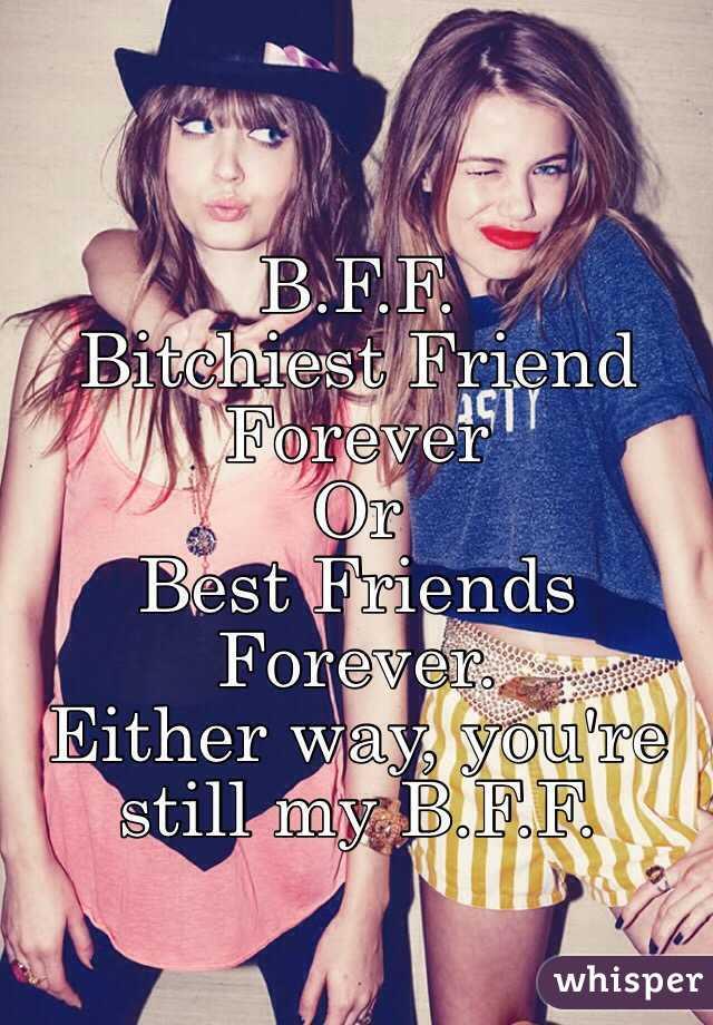 bff boyfriend forever
