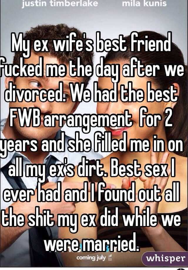 Ex wife fuck caption