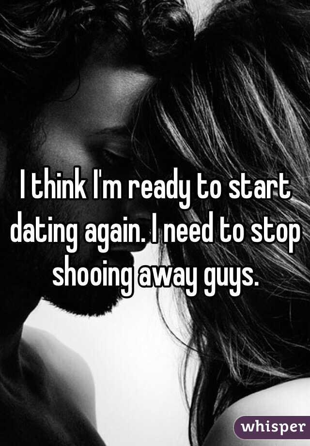 How Long Until I Start Dating Again