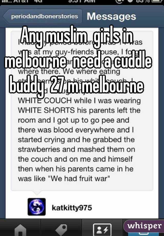 Cuddle buddy melbourne