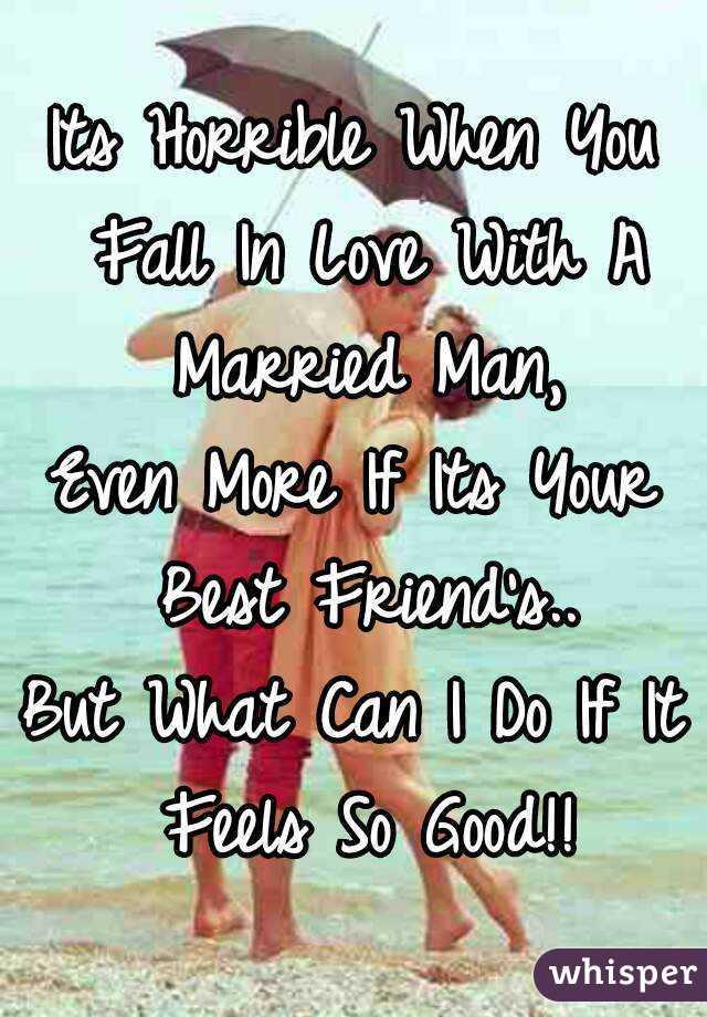 when married men fall in love