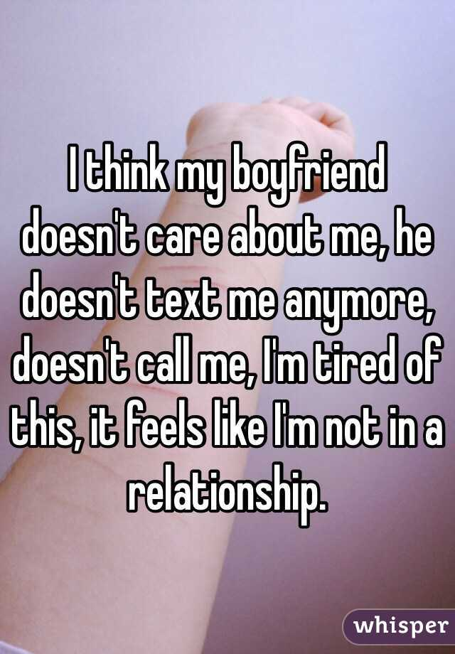 should i call my boyfriend if he doesnt call me