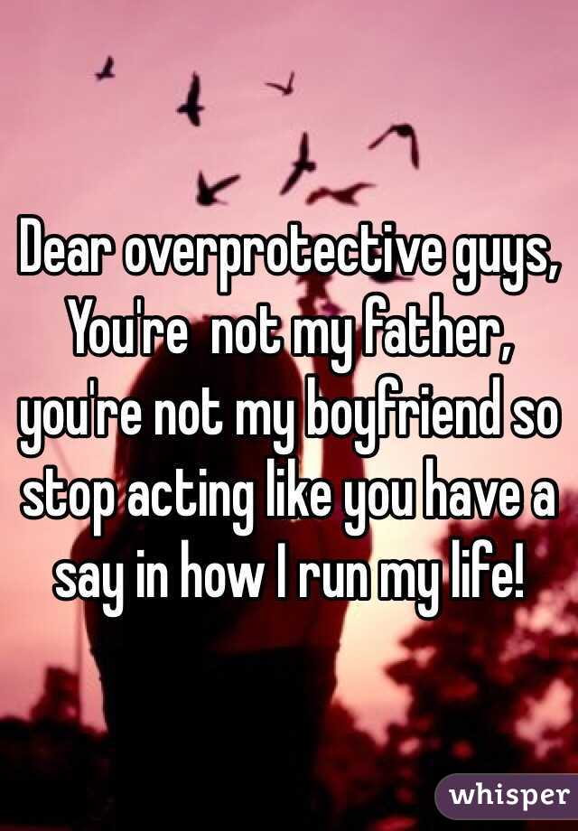 you are not my boyfriend
