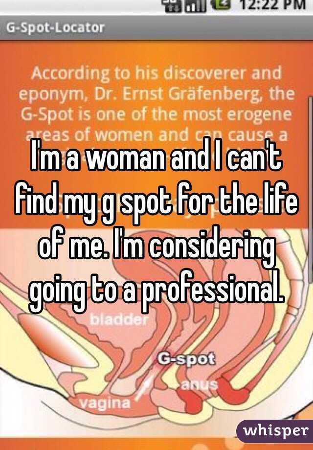How To Find A Women G Spot