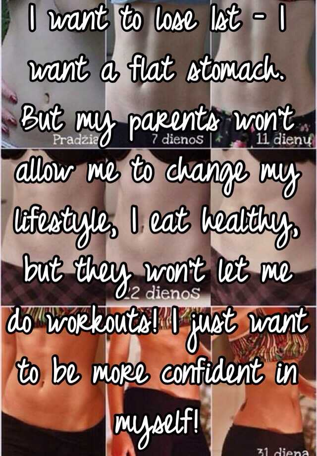 I want to be more confident in myself