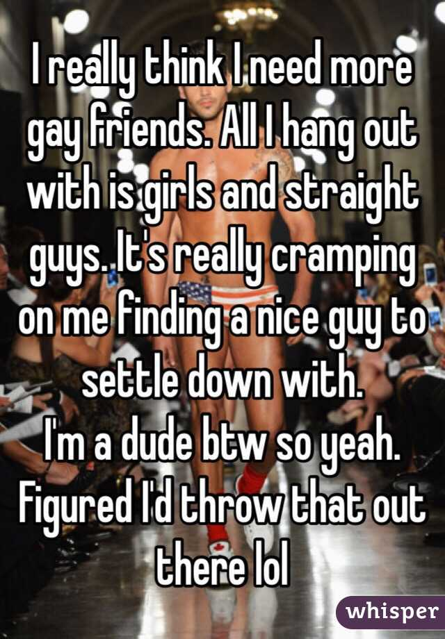where to hang out with a guy