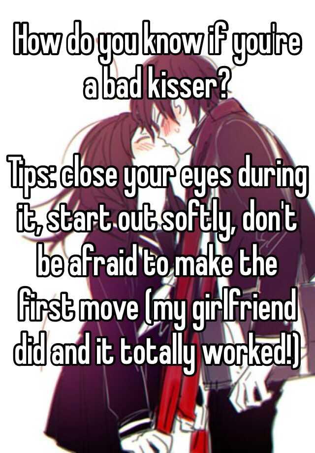 my first girlfriend tips