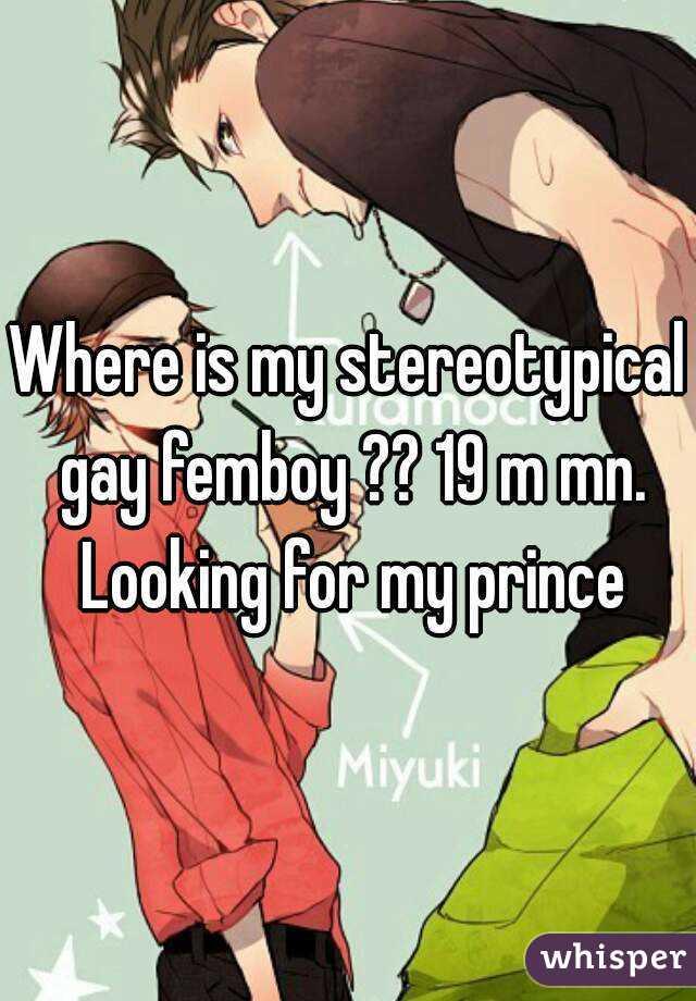 Gay femboy