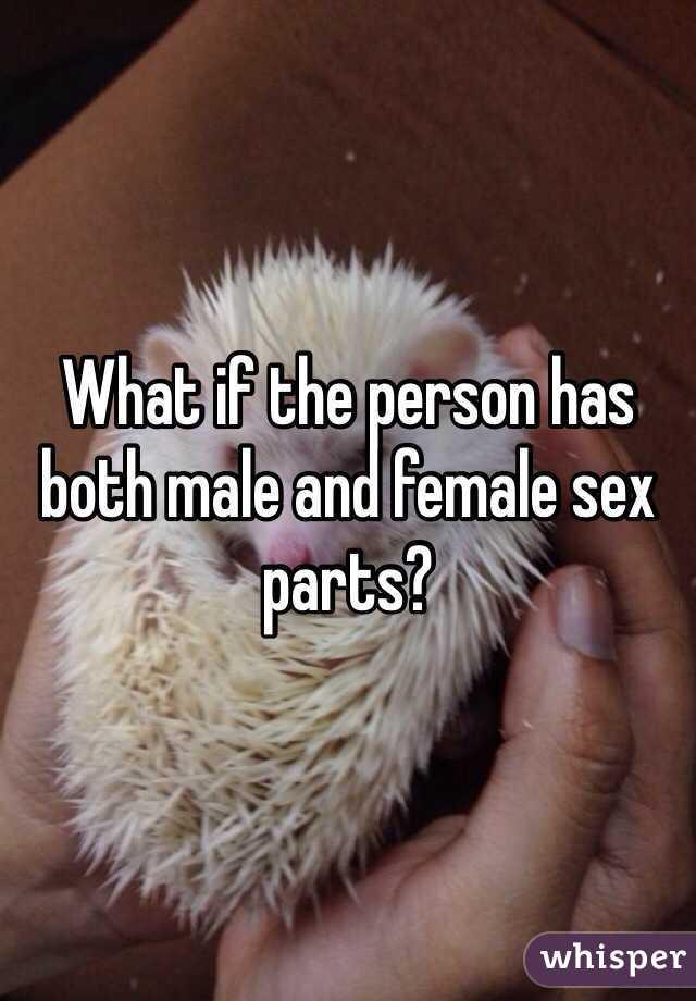 Both sex parts