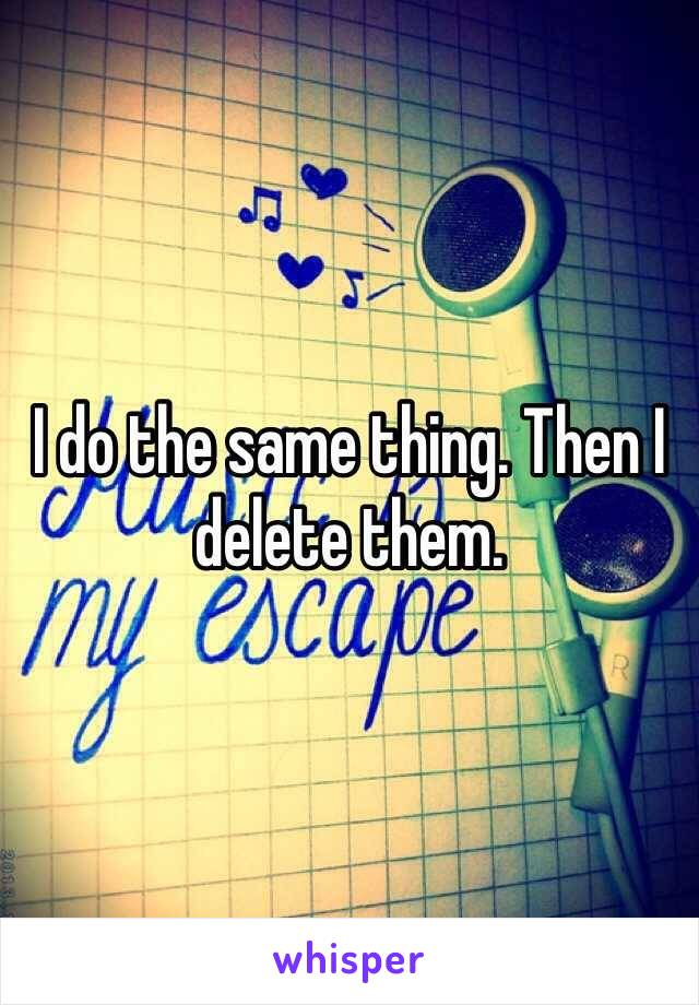 I do the same thing. Then I delete them.