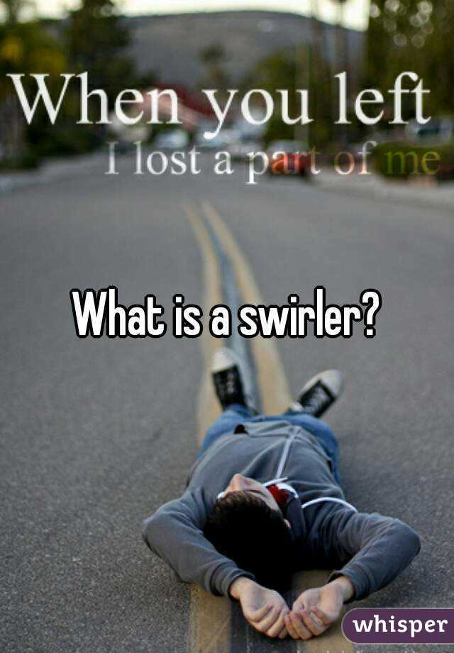 What is a swirler