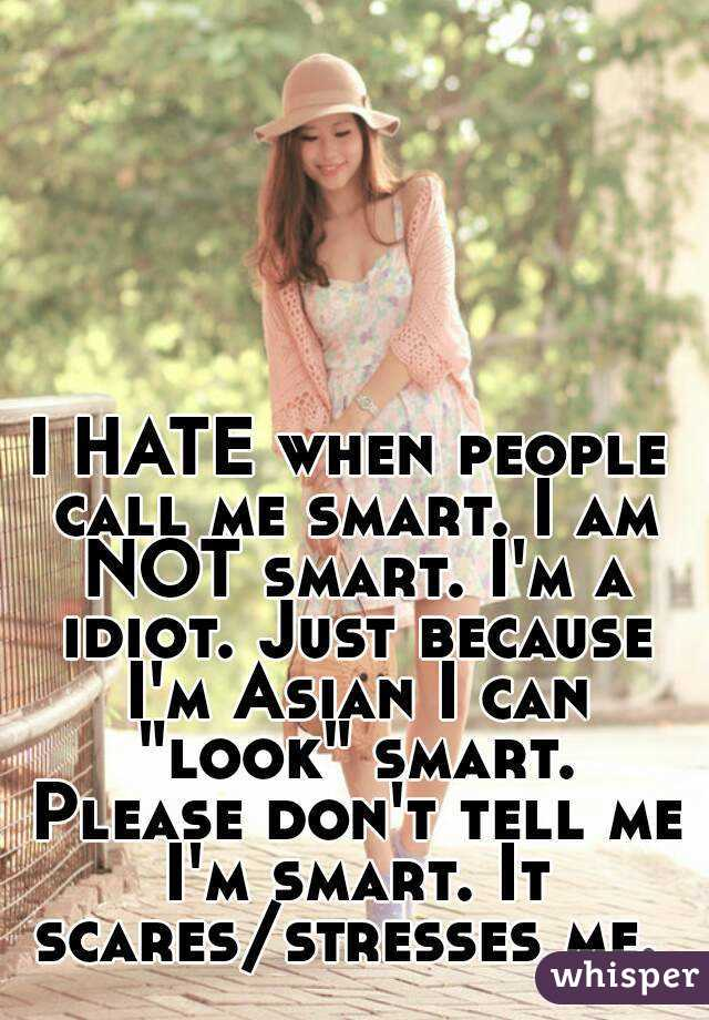 Just because i m asian