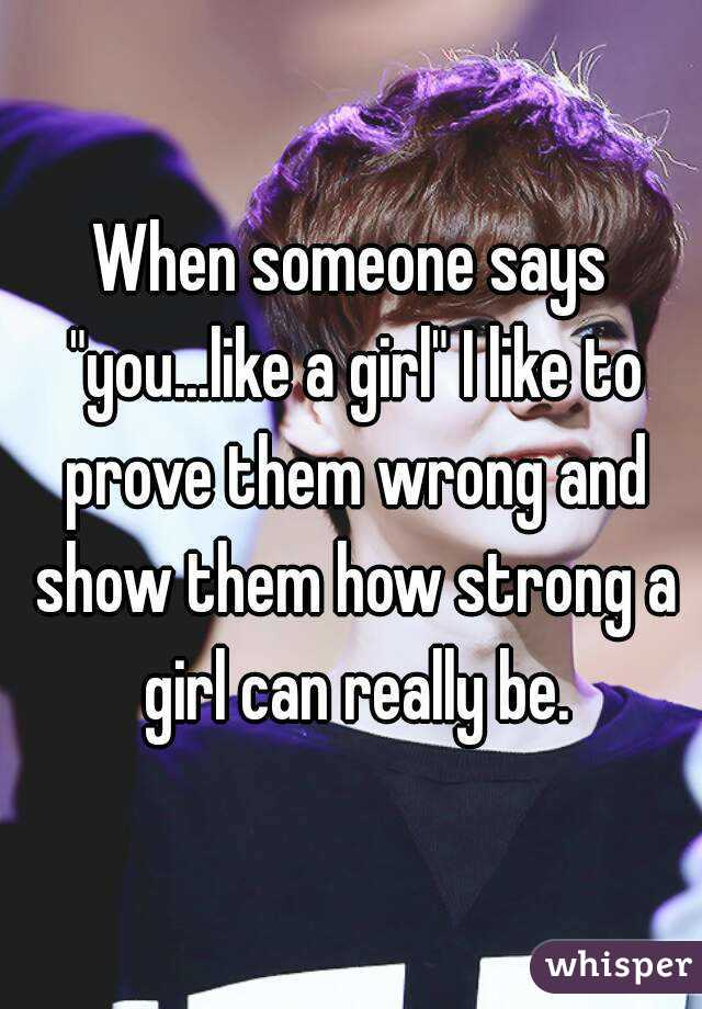 Like Show How Them Someone You To
