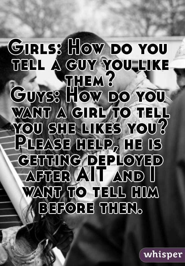 How can a man tell if a woman likes him