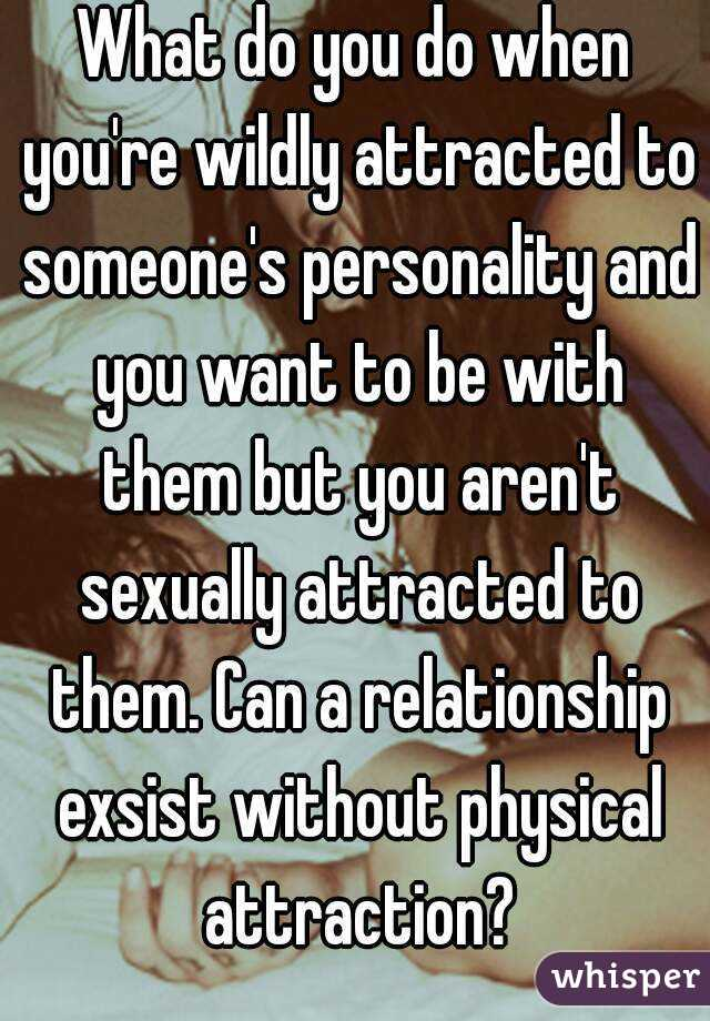 no physical attraction in relationship